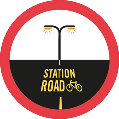 Station Road campaign logo