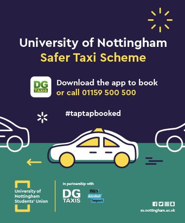 Safer taxi scheme banner